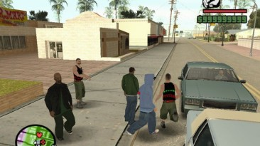 "Grand Theft Auto: San Andreas ""Русские парни"""