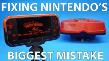 Ранний VR от Nintendo превратили в портативную консоль