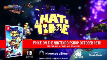 Дата выхода A Hat in Time на Nintendo Switch