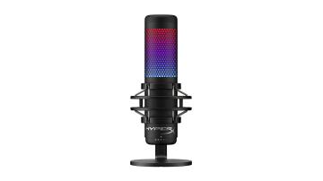 HyperX QuadCast S - игровой конденсаторный микрофон