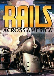 Обложка игры Rails Across America