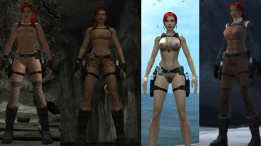 "Tomb Raider: Underworld ""nude mod"""