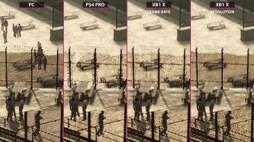 A Way Out - Сравнение PC Max vs. PS4 Pro v.s Xbox One X (Candyland)