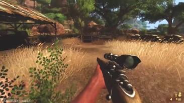 Far Cry 2 Геймплей: Снайпер Убийства и взрывы
