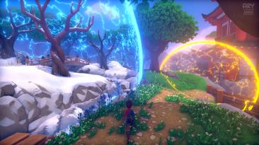 Видео игрового процесса консольной версии Ary and the Secret of Seasons