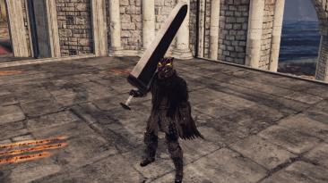 "Dark Souls 2 ""Комплект брони Берсерка и меч Убийца"""