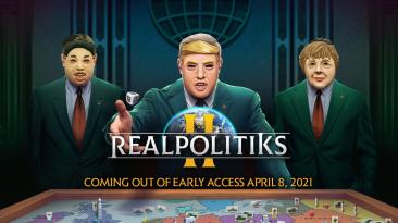 Realpolitiks 2 выйдет из раннего доступа в апреле