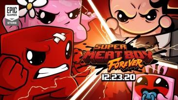 Super Meat Boy Forever выйдет 23 декабря 2020 года