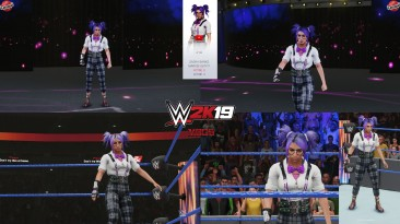 "WWE 2K19 ""Sasha Memorybanks 2K20 Порт Наряд Мод"""