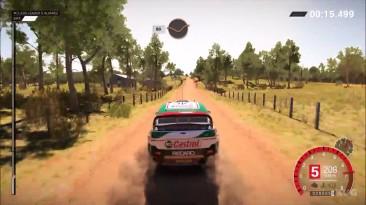 DiRT 4 - Ford Focus RS Rally 2007 Геймплей (PC HD)