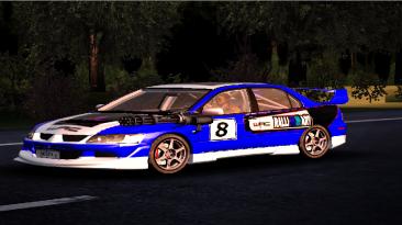 """Crashday """"Mitsubishi Lancer Evolution VIII GSR"""""""