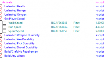 Scrapnaut: Таблица для Cheat Engine [v1.0.30] {YoucefHam}