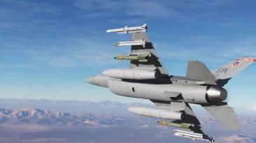Трейлер истребителя F-16C Viper для симулятора DCS