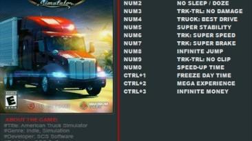 American Truck Simulator: Трейнер/Trainer (+13) [1.32.x.x] {FutureX}