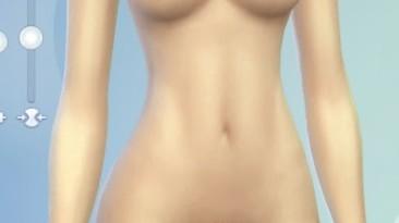 "Sims 4 ""Замена текстуры кожи для женщин"""