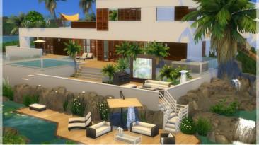 """The Sims 4 """"Современный дом sunrise Avenue 110"""""""