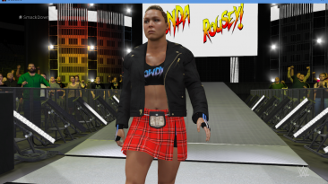 "WWE 2K16 ""Ronda Rousey Evolution наряд WWE 2K19 порт мод"""