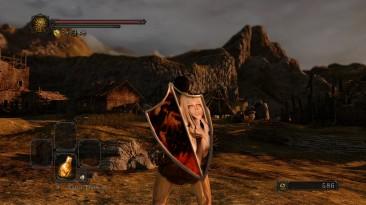 "Dark Souls 2 ""Quelaag-Quelaan Silver Eagle Kite Shield Replacement"""