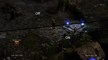 "Diablo 2: Resurrected ""Больше контраста"""