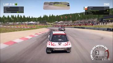 DiRT 4 - Opel Corsa Супер 1600 - Rallycross Игровой процесс (ПК HD)