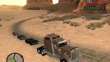 "Grand Theft Auto: San Andreas ""Kenworth W 900L Aerodyne"""
