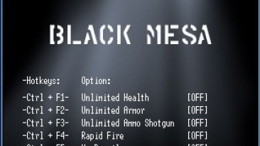 Black Mesa: Трейнер/Trainer (+7) [v0.3.1] {LIRW / GHL}