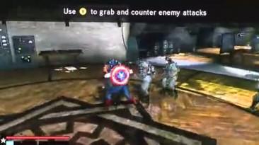 "Captain America: Super Soldier ""Геймплей"""