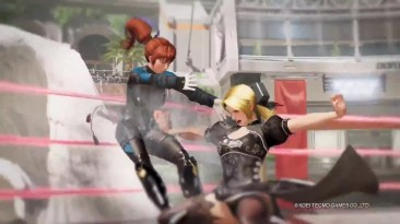 Dead or Alive 6 (E3 2018) - ламповый русский трейлер - VHSник