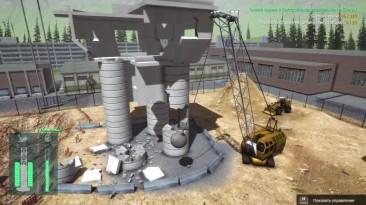 "Construction Machines Simulator 2016 ""Падение башни ч6"""