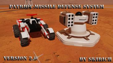 "Surviving Mars ""Защитная Ракетная Установка (Patriot MIssile )"""