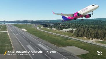 Релиз надстройки аэропорта Кристиансанн с новым трейлером для Microsoft Flight Simulator