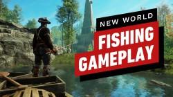 Появилась демонстрация рыбалки, высокоуровневой локации и нового оружия в MMORPG New World