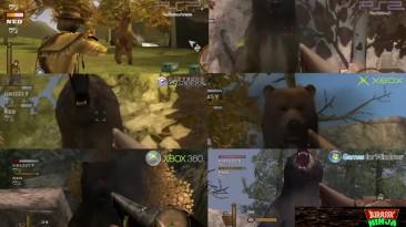 GUN - ''Сравнение графики'' (PSP, PS2, Gamecube, XBOX, XBOX 360, PC)