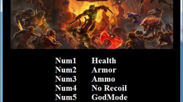 Doom Eternal: Трейнер/Trainer (+5) [1.0] {Abolfazl.k}