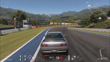 Gran Turismo Sport - Nissan Skyline GT-R V Spec II (R32) - Тест-драйв геймплей (PS4 HD)