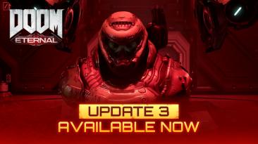 Обновление 3 для Doom Eternal доступно для загрузки