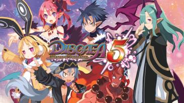 Disgaea 5 выйдет для Nintendo Switch