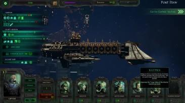 """Battlefleet Gothic Armada """"прохождение на русском Отбили артефакт- глава 2. Ч2 обзор"""""""