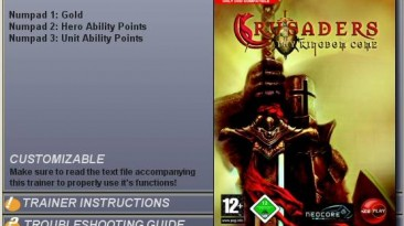 Crusaders: Thy Kingdom Come: Трейнер (+3) [1.0]