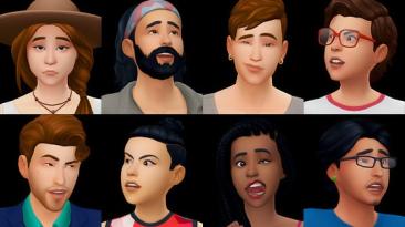 "The Sims 4 ""Набор симов-горожан"""