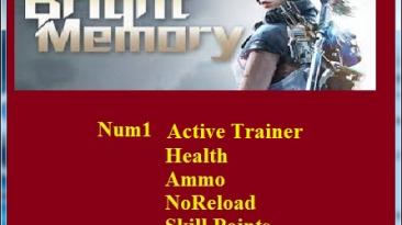 Bright Memory: Трейнер/Trainer (+4) [1.0] {Abolfazl.k}