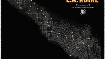 L.A.Noire: Карта нахождения киноплёнок