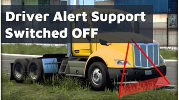 """Euro Truck Simulator 2 """"Отключение поддержки предупреждения водителя для пака исправленных звуков (1.41.x)"""""""