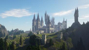 """Minecraft """"Приключение во вселенной Гарри Поттера"""""""