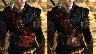 """Witcher 2 """"Ретекстура сумки на броне"""""""