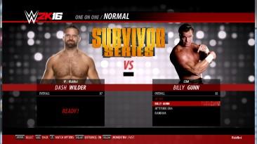 """WWE 2k16 """"Рендеры для бойца Dash Wilder"""""""