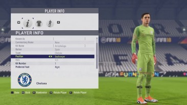 "FIFA 18 ""BIGPATCH 9 (NEW FACE)"""