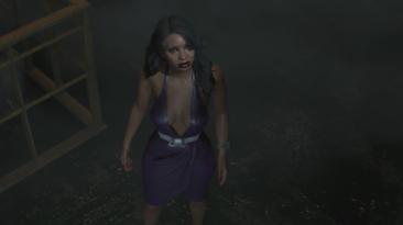 """Resident Evil 2 """"Рошель в откровенном платье"""""""