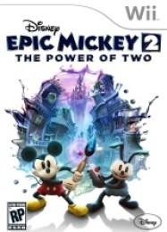 Обложка игры Disney Epic Mickey 2: The Power of Two