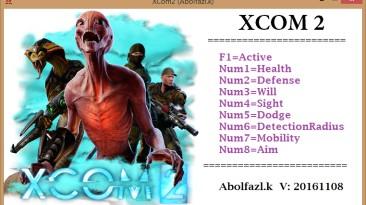 XCOM 2: Трейнер/Trainer (+8) [20161108: x64] {Abolfazl.k}